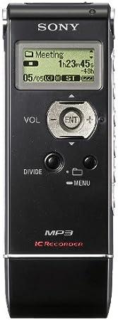 Sony Icd Ux81 Digitales Diktiergerät 2 Gb Interner Speicher Mp3 Usb