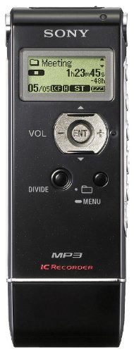 Sony ICD-UX81 Digital Voice Recorder with 2GB Flash Memory