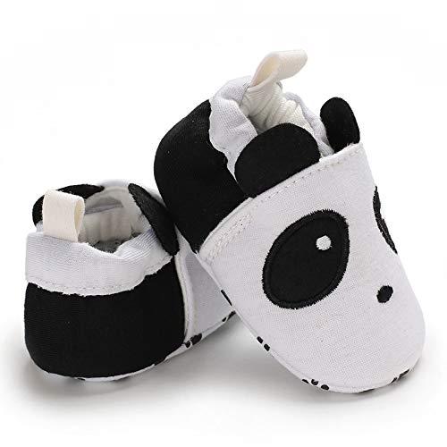 Souple Noir Longra Semelle Fleur Chaussures Antidérapant Bébé Enfant Fq7rW70an