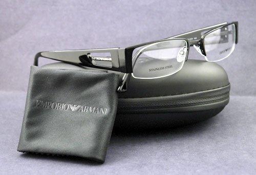 Amazon.com: EMPORIO ARMANI EYEGLASSES EA 9378 065Z BLACK: Shoes