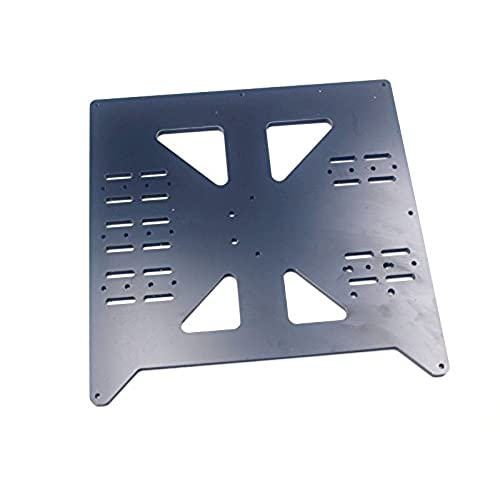 Discount HEASEN 1pcsAluminum composit Y Carriage Plate V3 Bed Support for RepRap Prusa i3 Wanhao Duplicator i3/Monoprice Maker Select for sale