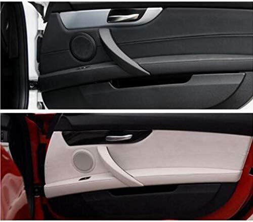 WOVELOT Front Auto Destra Porta Interna Maniglia del Pannello Pull Trim Cover Auto Interna Porta Manopola Styling Decor Accessori per Z4 E89 Beige