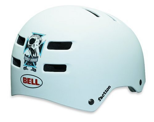 Bell Fahrradhelm  Faction 09, Tony Hawk matt white, M