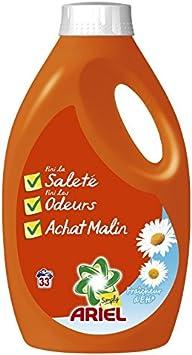 Ariel Simply Fraîcheur dEté - Detergente líquido para lavadora ...