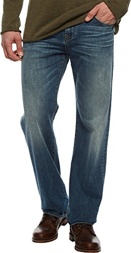 7 For All Mankind Men's Austyn Relaxed Straight Leg Jean, Be