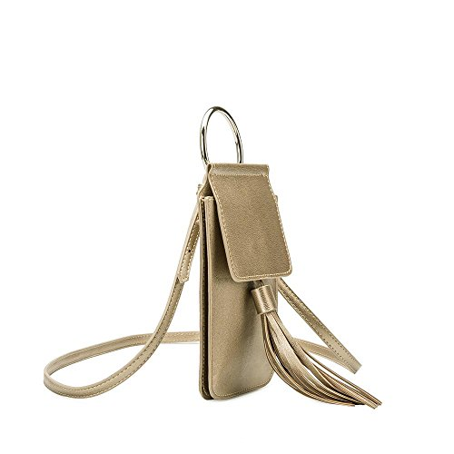 iPhone Bag Tassel Crossbody Melie Gold Dory Bianco zwqgXnEU