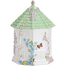 Lenox Butterfly Meadow Figural Gazebo Cookie Jar, 10-Inch