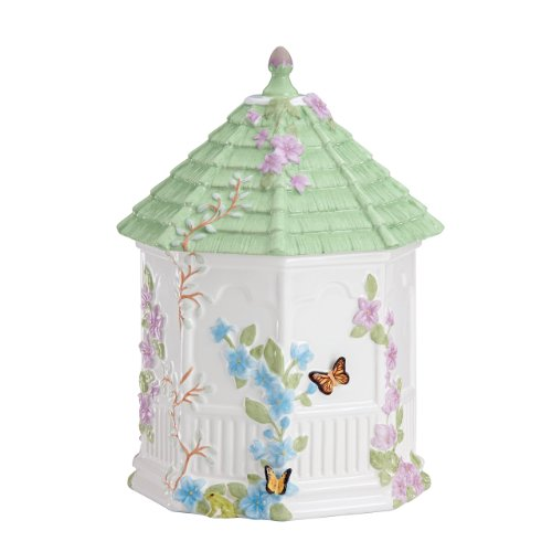 Lenox Butterfly Meadow Figural Gazebo Cookie Jar, 10-Inch ()