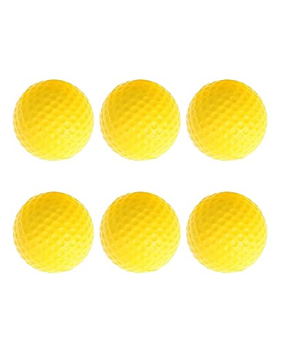 POSMA CN010A Portable Golf Training Chipping Net Bundle set with 1pc Hitting Aid Practice In/Outdoor Bag Hitting Nets + 2pcs Golf tour ball + 6pcs Golf PU ball by POSMA (Image #7)