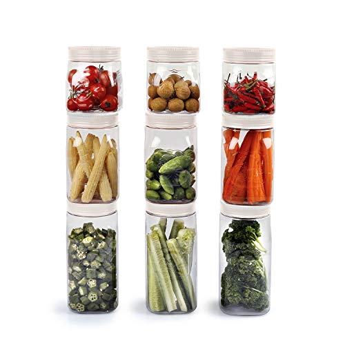 Cello Set of 9 Fridge Door Canisters White (3 Pieces-500ml, 3 Pieces-750ml and 3 Pieces-1000ml) Price & Reviews