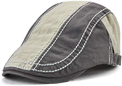 野球帽 キャスケット メンズ ハット ゴルフ 綿 調整可能 日よけ 防風 カジュアル ハンチング LWQJP (Color : ArmyGreen, Size : One Size)