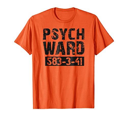 Halloween Psych Ward Costume Shirts Kids, Men, Women