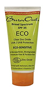 Burn Out SPF 35 Eco Sensitive Sunscreen, 3 Ounce