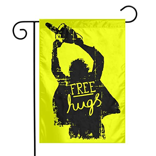 Kjaoi Free Hugs Singer Festival Garden Flag Front Door Flag Decorative Home Outdoor Flag 1218 Inch