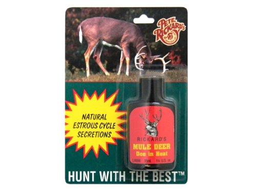 - Pete Rickard's Mule Doe in Heat Lure, 1 1/4-Ounce