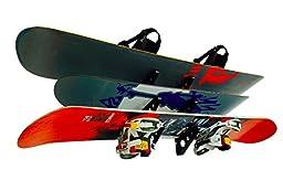 Snowboard Wall Storage Rack - StoreYourBoard