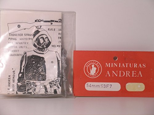 - Andrea Miniatures 54mm Scale German WW I Trench Raider---Metal Miniature