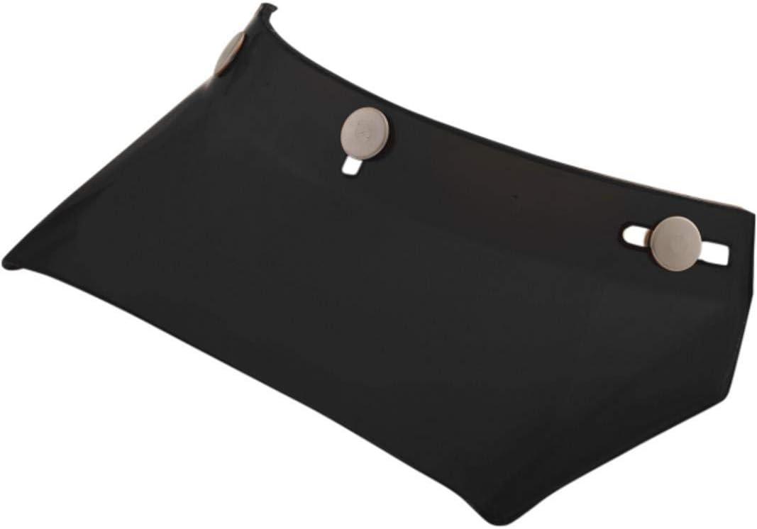 No Vents Gloss Black 01321030 AFX Vintage 3-Snap Visor