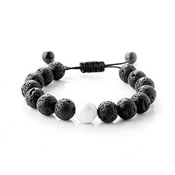 Amazon Com Maroamlife Lava Stone Diffuser Bracelet Lava Bead