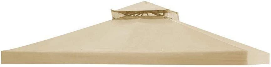 12x10/' Gazebo Canopy Top Replacement Cover for Sunjoy L-GZ288PST-4D Patio 2 Tier