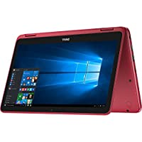 Dell Inspiron 11-3168 Intel Pentium N3710 X4 1.6GHz 4GB 500GB 11.6, Red (Certified Refurbished)