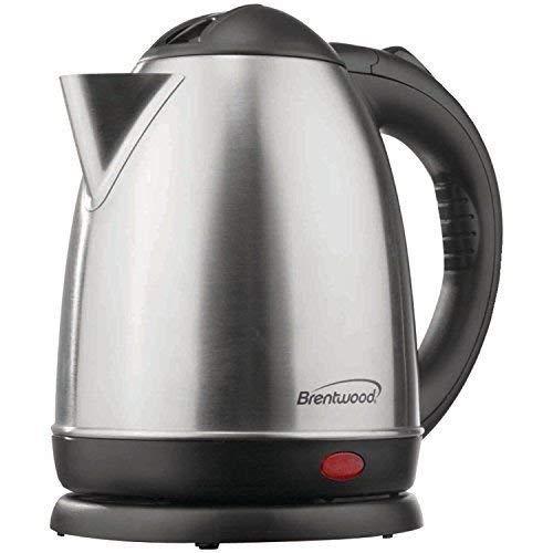 Brentwood KT-1780 Electric Cordless Tea Kettle, 1.5-Liter,