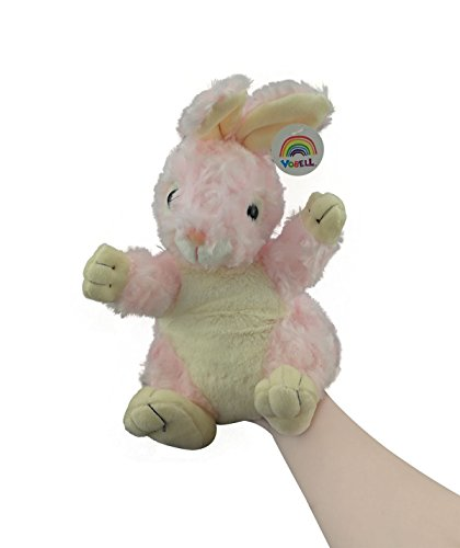 Vobell Bunny Rabbit Hand Puppets Plush Stuffed Animals