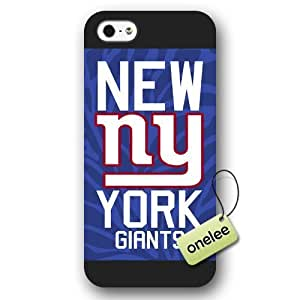 Personalize NFL New York Giants Team Logo Frosted Black Case For Iphone 5C Cover Case CovNFL New York Giants Team Logo Frosted Black Case For Iphone 5C Cover Case CovBlack