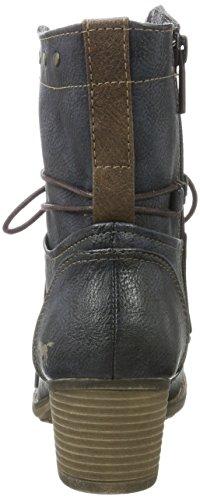 Mustang Damen 1197-508-820 Stiefel Blau (Navy)