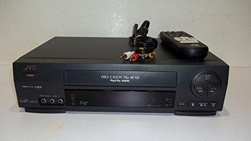 JVC HR-VP58U 4 Head 19u Hi-Fi Stereo VCR Video Cassette Recorder