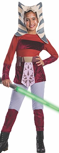 Star Wars Padawan Costume (Star Wars Clone Wars Child's Ahsoka Costume,)