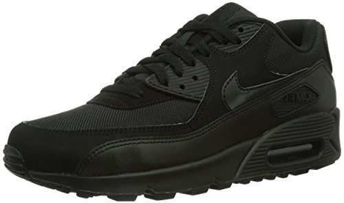 NIKE Herren Air Max 90 Essential Low-Top, Schwarz (Black/Black/Black/Black)