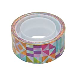 Scotch Expressions Magic Tape, 3/4 x 300 Inches, Circus, 6-Rolls/Pack