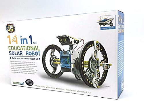 (14 in 1 Solar Robot kit Educational Solar Power Robot Canada)