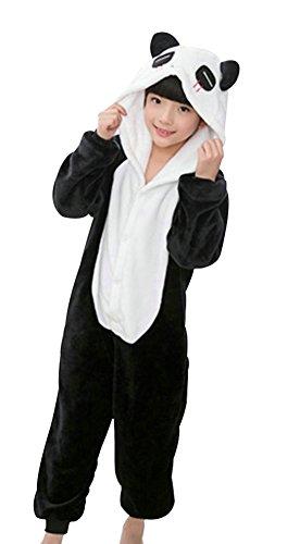 OVOV Unisex Baby Sleepsuit Panda Onesie Cosplay Outfit Homewear for Halloween Christmas Panda (Halloween Baby Sleepsuit)