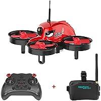 REDPAWZ R011 Micro FPV Drones 5.8G 40CH Racing Drone with VR Goggles 1000TVL FOV 120 °Wide-angle Camera RTF Mode 2