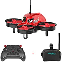 REDPAWZ R011 5.8G 40CH Micro FPV Racing Drone with VR Goggles 1000TVL FOV 120°Wide-angle Camera