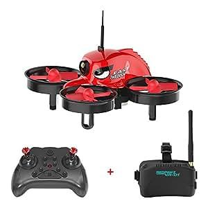 REDPAWZ R011 5.8G 40CH Micro FPV Racing Drone with VR Goggles 1000TVL FOV 120°Wide-angle Camera
