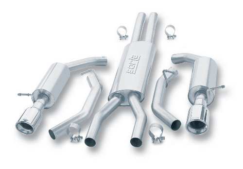 Universal Exhaust Borla (Borla 140008 Cat-Back Exhaust System)