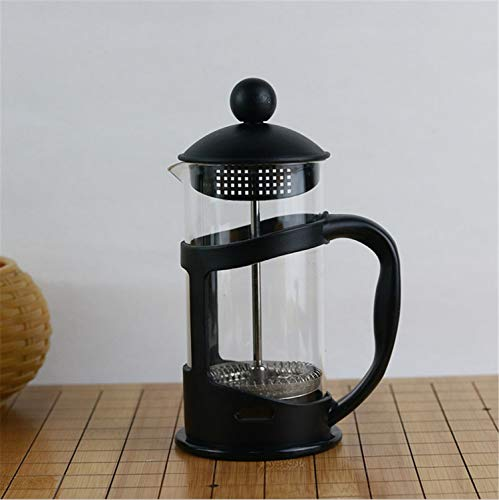 UNIQUE-F Olla de café de borosilicato Resistente a Alta Temperatura Filtro de 3 Capas Té Brewer Mano Calidad de café Buena...