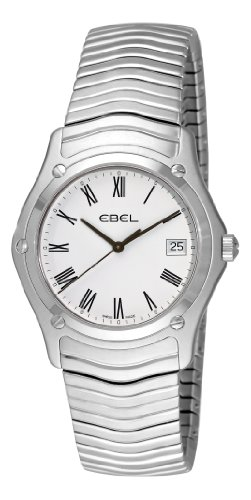 Ebel-Mens-9255F410125-Classic-White-Roman-Numeral-Dial-Watch