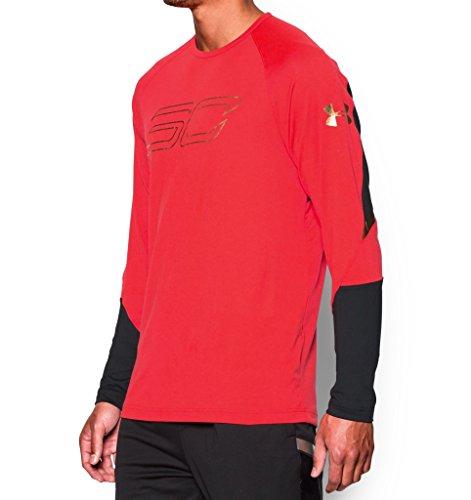 extra Camiseta large Rocket De Armour Heat Red Sc Seeker Talla Under wtRTxzq1t