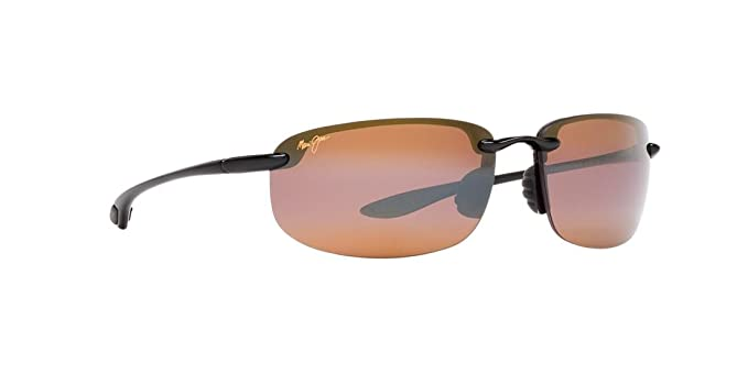 e3e1d5cecb7 Image Unavailable. Image not available for. Colour  Maui Jim Ho Okipa Black  H407-02 ...