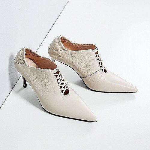 Deporte Moda de Zapatos Occidentales Zapatillas nbsp;Segundo Alto de 36 Tacón de Usan CXY qIwRE48x