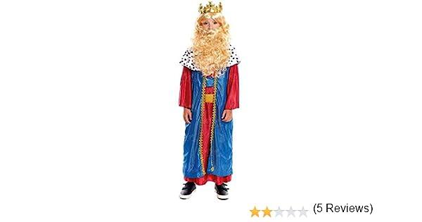 Disfraz Rey Mago Melchor niño infantil para Navidad 2-4 años ...