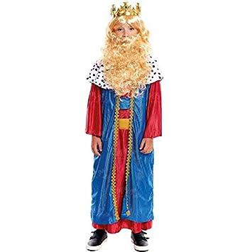 Disfraz Rey Mago Melchor niño infantil para Navidad 4-6 años ...