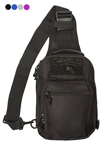 Observ Sling Bag Backpack - Durable Single Strap Shoulder Pack for Indoor/Outdoor Use