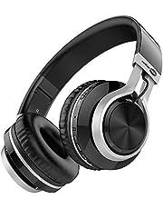 Baseman Headphones Wireless Bluetooth with Mic, Over Ear Lightweight Foldable Headphone Wired & Wirelss Mode for Girl Kids Boys Women, Hi-Fi Deep Bass Headphone for Computer Laptop TV PC Travel Work
