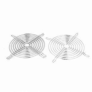 Movimiento y movimiento (TM) ventiladores de refrigeración piezas parrilla Protector para el dedo 132x 132mm Case Fan 3Pcs