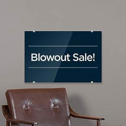 8x3 Nautical Wood Premium Brushed Aluminum Sign Blowout Sale 5-Pack CGSignLab